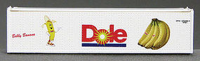 Con-Cor 40 Dole Container Cross Legs #1 N Scale Model Train Freight Car Load #443109