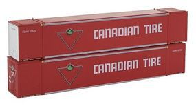 Con-Cor Monon 53 Rivet-Side Container 2-Pack Canadian Tire Set #2 N Scale Model Freight Car #453021