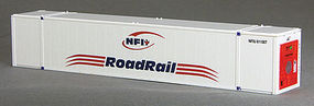 Con-Cor 53 Reefer Container NFI #1 N Scale Model Train Freight Car Load #453211