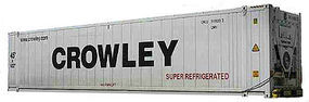 Con-Cor 45 Reefer Container Crowley 2 HO Scale Model Train Freight Car #483653