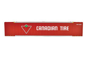 Con-Cor 53 Sheet/Post Rivet Side Container Canadian Tire Set #1 HO Scale Model Freight Car #488010