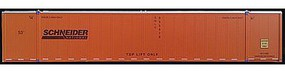 Con-Cor Monon 53 Rivet-Side Container 2-Pack Schneider HO Scale Model Train Freight Car #488014