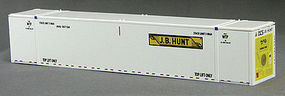 Con-Cor 53 Reefer Container JBHU #2 (2) HO Scale Model Train Freight Car Load #488152