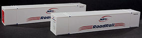 Con-Cor 53 Reefer Container NFI #1 (2) HO Scale Model Train Freight Car Load #488161