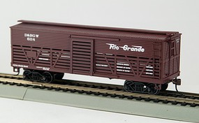 Con-Cor Ho OT 1880 CATTLE CAR D&RGW