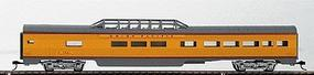 Con-Cor 85 Streamlined ACF Dome Union Pacific HO Scale Model Train Passenger Car #71112