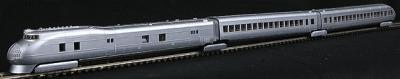 Con-Cor M-10000 Original 3-Car Passenger Train-Only Set Standard DC Undecorated -- N Scale -- #8790
