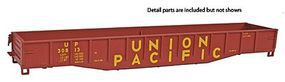 Con-Cor 54 Mill Gondola Union Pacific HO Scale Model Train Freight Car #9021