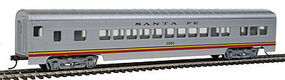 Con-Cor 72 Streamline Coach Santa Fe Valley Flyer HO Scale Model Train Passenger Car #910
