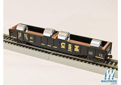 54 Gondola With Coils Csx Ho Scale Model Train Freight Car 92103