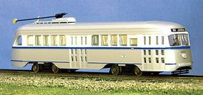 Con-Cor PCC Streetcar Philadelphia HO Scale Model Train Locomotive #93002
