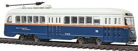 Con-Cor PCC Streetcar Baltimore HO Scale Model Train Locomotive #93011