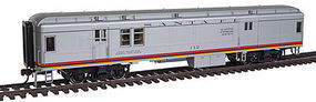 Con-Cor Heavyweight Baggage/Mail ATSF #2 HO Scale Model Train Passenger Car #95101