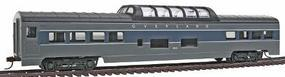 Con-Cor 72 Streamline Vista Dome Overland Mail HO Scale Model Train Passenger Car #955