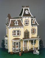 Corona Greenleaf The Beacon Hill Wooden Doll House Kit #8002
