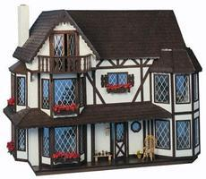 Corona Greenleaf The Harrison Wooden Doll House Kit #8006