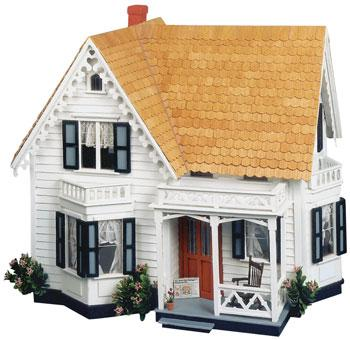 Corona Concepts Greenleaf The Westville -- Wooden Doll House Kit -- #8013
