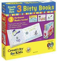 Creativity-for-Kids 3 Bitty Books Activity Craft Kit #1094000