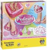 Creativity-for-Kids Pretty Pedicure Salon Hobby Bath and Beauty #1733000