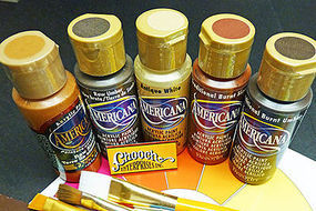Chooch Weathering Earthtones Acrylic Paint 5-Color Set Each Color 2oz  59.1ml