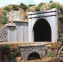 Chooch Double-Track Concrete Tunnel Portal HO Scale Model Railroad Scenery #8330