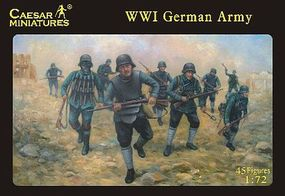 Caesar WWI German Army (45) Plastic Model Military Figure 1/72 Scale #35