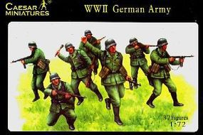 Caesar WWII German Army (37) Plastic Model Military Figure 1/72 Scale #37