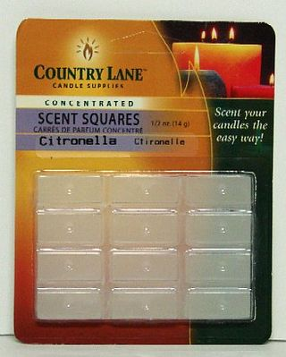 Candle Making Supplies Concentrated Scent Square Citronella 1/2oz. -- Candle Making Kit -- #70704