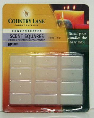 Candle Making Supplies Concentrated Scent Square Spice 1/2oz. -- Candle Making Kit -- #70721