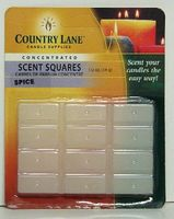 Candle-Making Concentrated Scent Square Spice 1/2oz. Candle Making Kit #70721