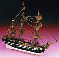Constructo Junior HMS Bounty Frigate Ship w/solid wood hull (Beginner)