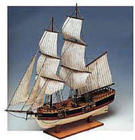 Constructo 1/100 Union Double-Masted American Merchant Sailing Ship w/solid wood hull (Intermediate)