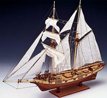 Constructo 1/55 Albatros Double-Masted Baltimore 1840 Schooner Ship w/plank-on frame (Intermediate)