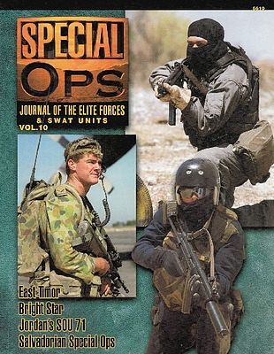 Concord Publications Journal of the Elite Forces & Swat Units Vol.10 -- Military History Book -- #5510