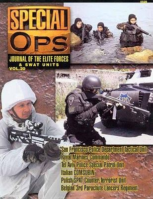 Concord Publications Journal of the Elite Forces & Swat Units Vol.20 -- Military History Book -- #5520