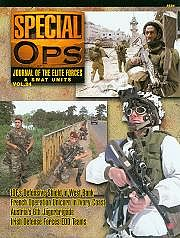 Concord Publications Journal of the Elite Forces & Swat Units Vol.24 -- Military History Book -- #5524