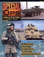 Concord Publications Journal of the Elite Forces & Swat Units Vol.30 -- Military History Book -- #5530