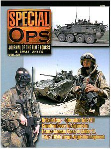 Concord Publications Journal of the Elite Forces & Swat Units Vol.40 -- Military History Book -- #5540