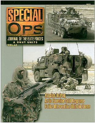 Concord Publications Journal of the Elite Forces & Swat Units Vol.43 -- Military History Book -- #5543