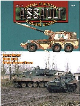 Concord Publications Assault- Journal of Armored & Heliborne Warfare Vol.17 -- Military History Book -- #7817