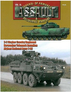 Concord Publications Assault- Journal of Armored & Heliborne Warfare Vol.18 -- Military History Book -- #7818