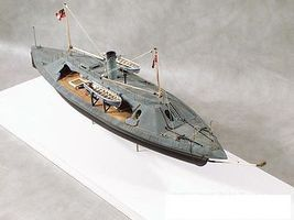 Cottage CSS Palmetto State Confederate Ironclad Warship Plastic Model Military Ship Kit 1/96 #96002