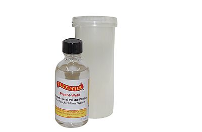 Creations Unlimited Plast-I-Weld Glue     2oz
