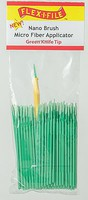 Creations Nano Brush Bulk Pack Black Long Tip. 100-Pack