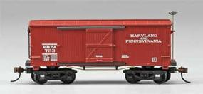 Mantua 1860 Box Car Wooden Vintage Freight Car MA/PA HO