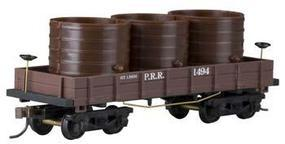 Mantua 1860 Water Car Wooden Vintage Freight Car PRR HO