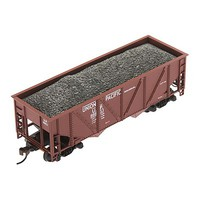 Mantua HO 36 Hopper w/Coal Load, UP