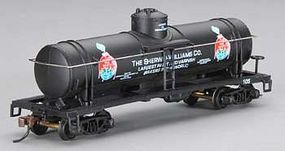 Mantua 40 Single Dome Tank Car Sherwin-Williams HO Scale Model Train Freight Car #732308