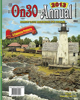CTC 2013 On30 Annual Model Railroading Book #348