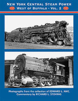 CTC NYC Steam Power West of Buffalo Vol 2 Model Railroading Book #88
